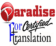 Paradise for certified translation